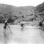 Fishing with Nets 80 years ago, Herbie North's photos