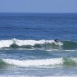 Surfing at Noetzie